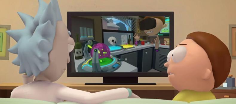 Rick and Morty: Virtual Rick-ality Hits the Shelves This Week