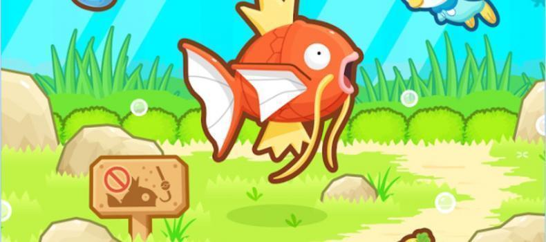 Pokemon: Magikarp Jump Now Available On Mobile Devices