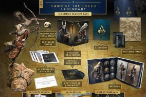 E3 2017: This Limited Edition Of Assassin's Creed: Origins Costs $800