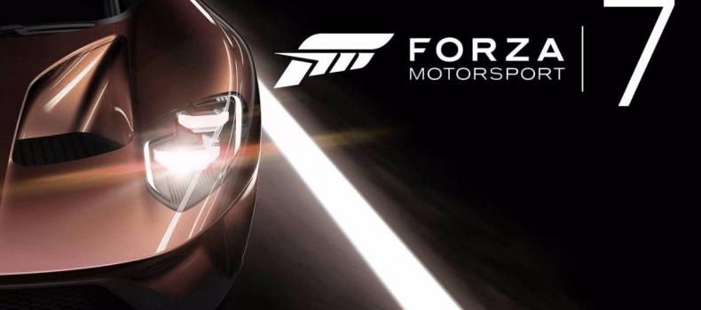 E3 2017: Forza Motorsport 7 Announced Xbox One X