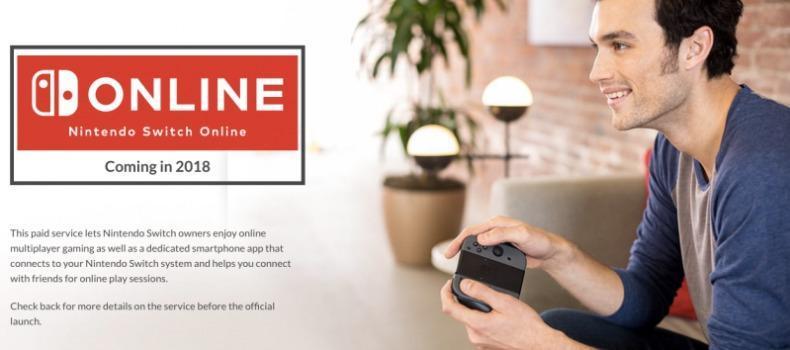 Nintendo Switch Online Delayed Into 2018, Price Revealed