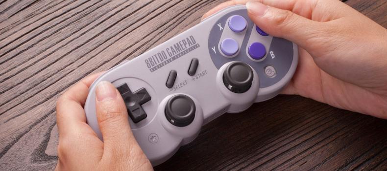E3 2017: A Retro Gamepad For Nintendo's Newest Console