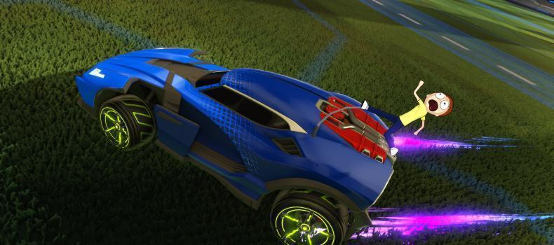 Free Rick And Morty DLC Coming To Rocket League