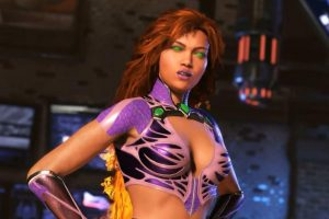 SDCC 2017: Starfire Gets Injustice 2 Gameplay Video