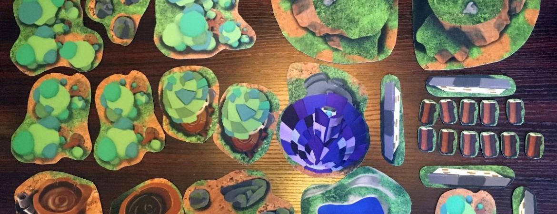 Dicey Ventures Earth and Arcane 2D Terrain Kit - All 30 Terrain Pieces