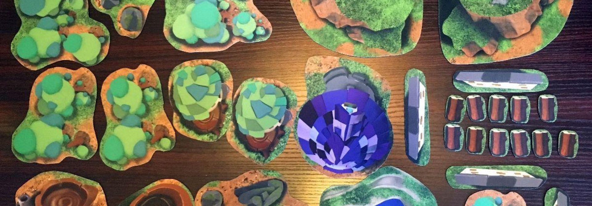 For Those About To Roll, We Salute You! Dicey Ventures Earth and Arcane 2D Neoprene Terrain Review