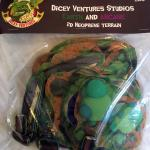 Dicey Ventures Earth and Arcane 2D Terrain Kit - In Package