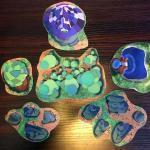 Dicey Ventures Earth and Arcane 2D Terrain Kit - Assorted Pieces