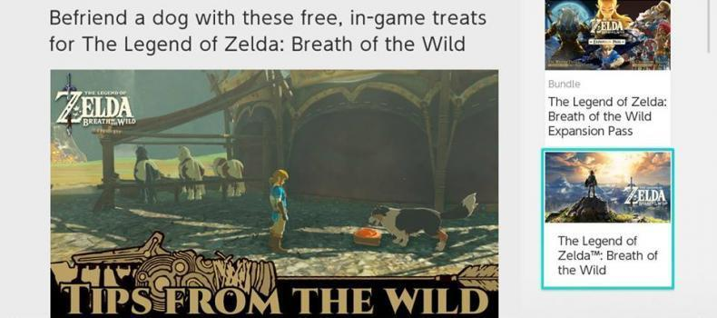 Turn On Zelda Today And Get Free Food! (For Link)