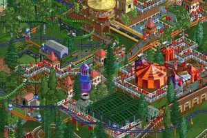 RollerCoaster Tycoon Classic Coming To Steam
