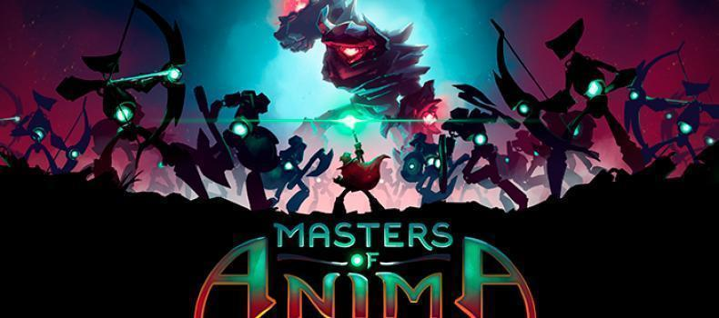 Adventure Game Masters Of Anima Coming 2018