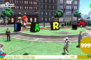 Super Mario Odyssey Glitch Lets You Beat The Jump Rope With One Jump