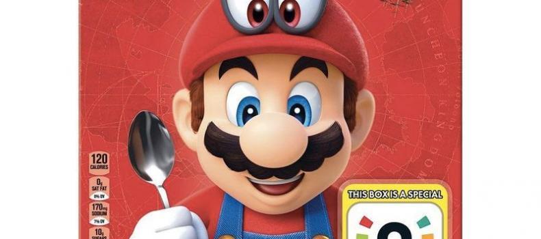Mario Cereal Quietly Sneaks Onto Shelves