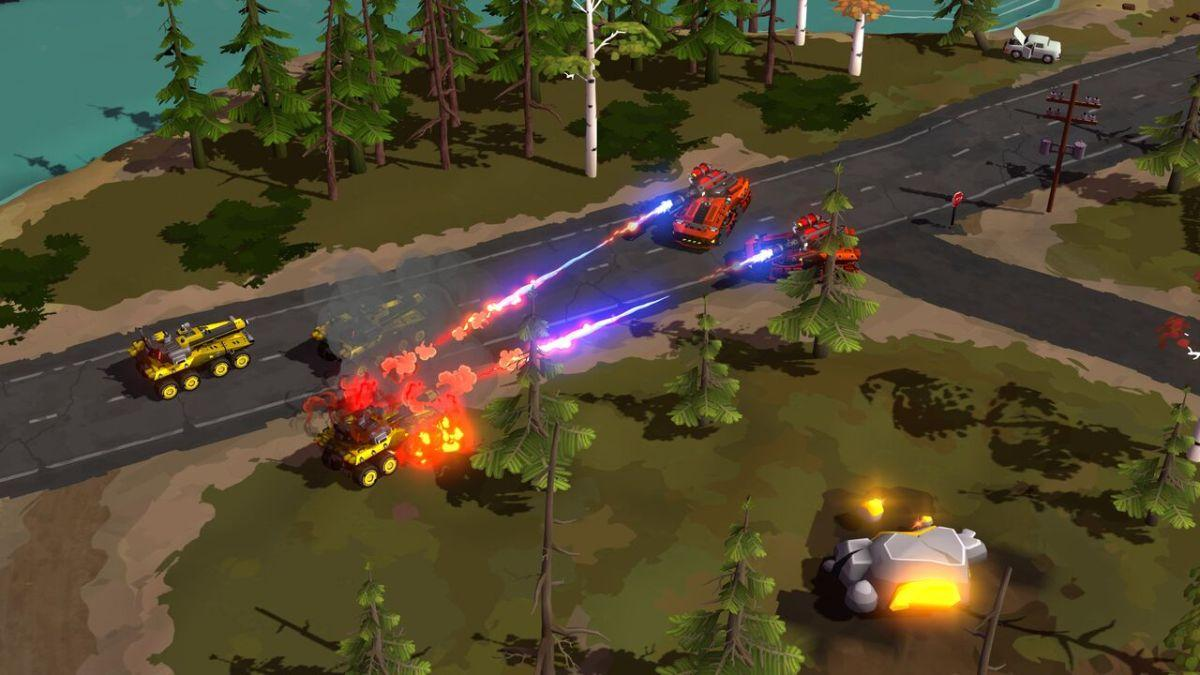 RTS Game Forged Battalion Announced For Steam Early Access