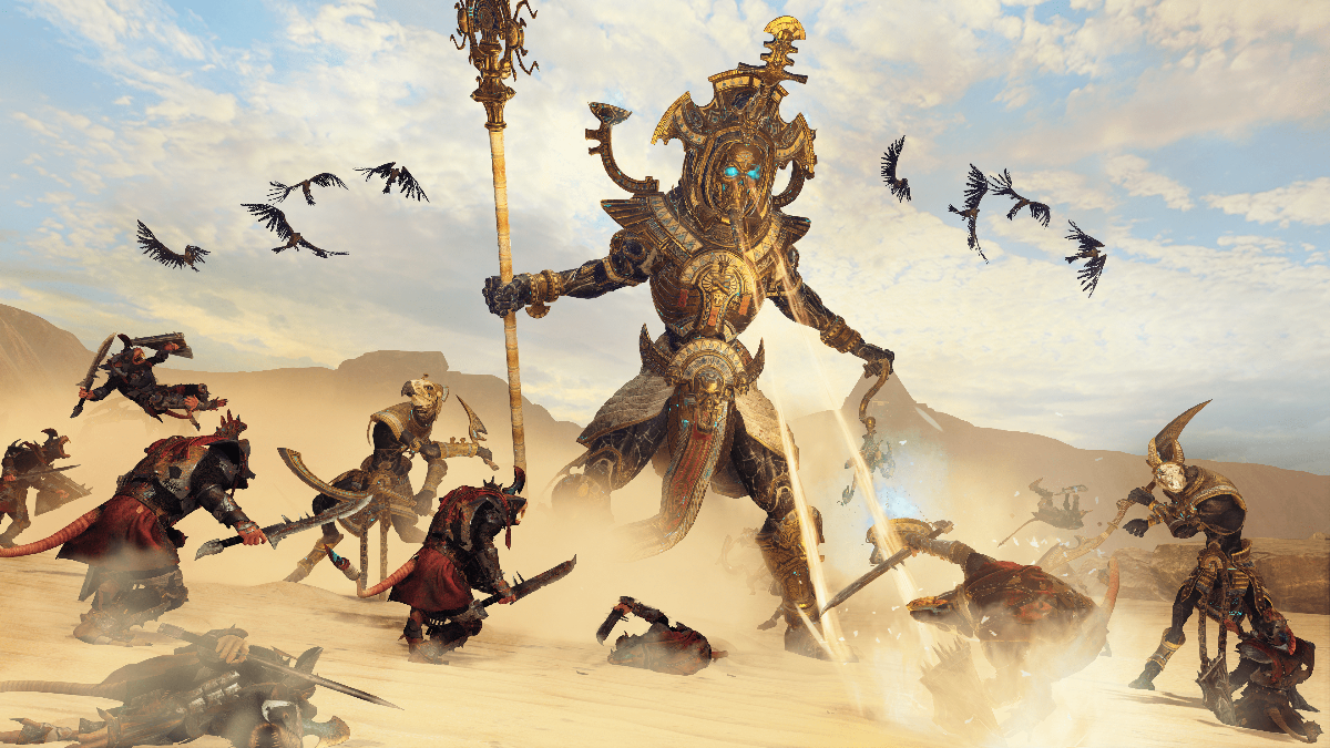 The Tomb Kings Will Rise In Warhammer II Next Month
