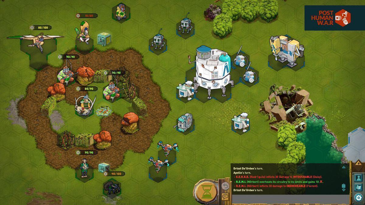 Post Human W.A.R - screenshot champion 3