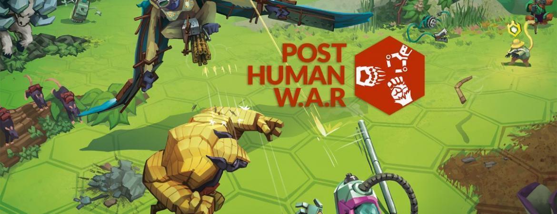 Post Human W.A.R - Visual