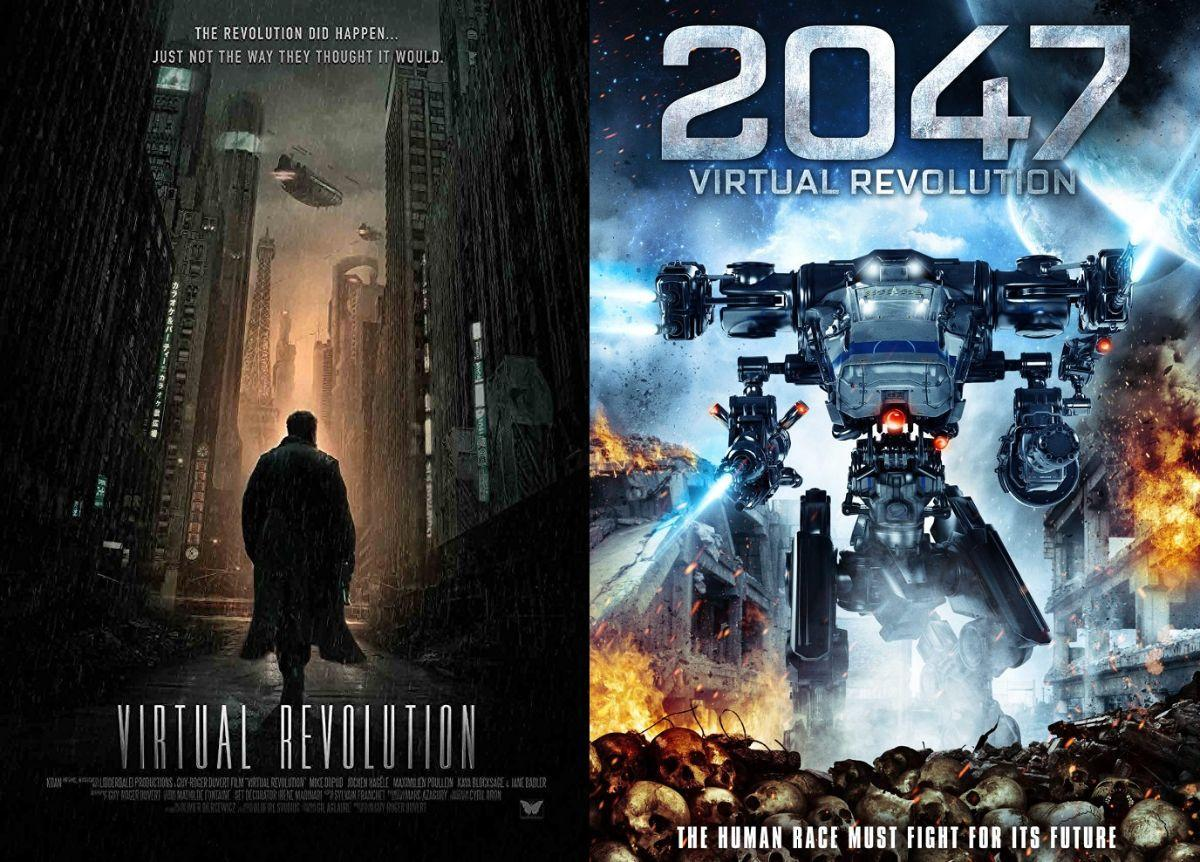 2047 Virtual Revolution Movie Art