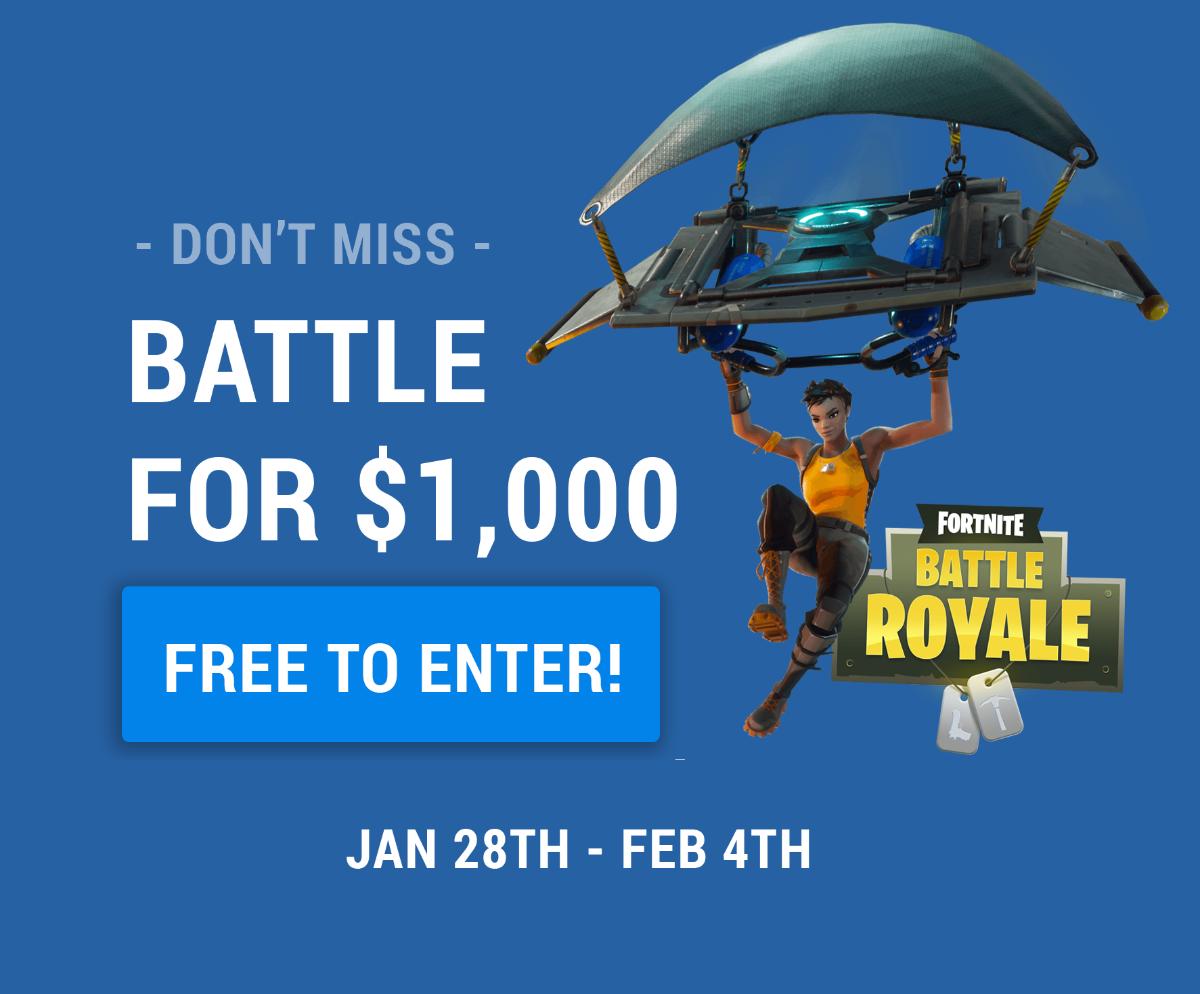GamerzArena Hosting $1000 Fortnite Tournament   PopGeeks com - Books