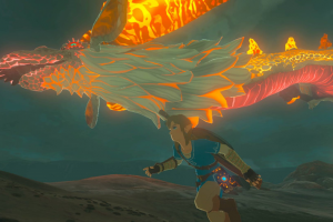 How to Farm Dinraal Dragon Parts in Breath of the Wild – BOTW Dinraal Dragon Farming