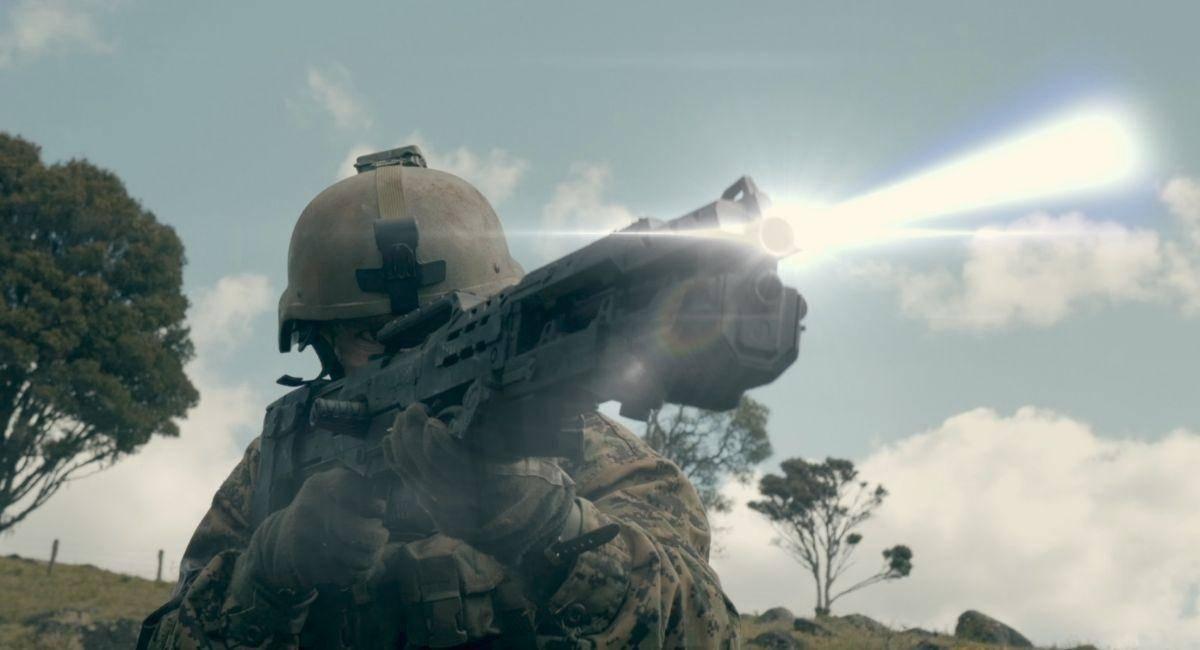 Battalion Review - Blake obtains a laser rifle.