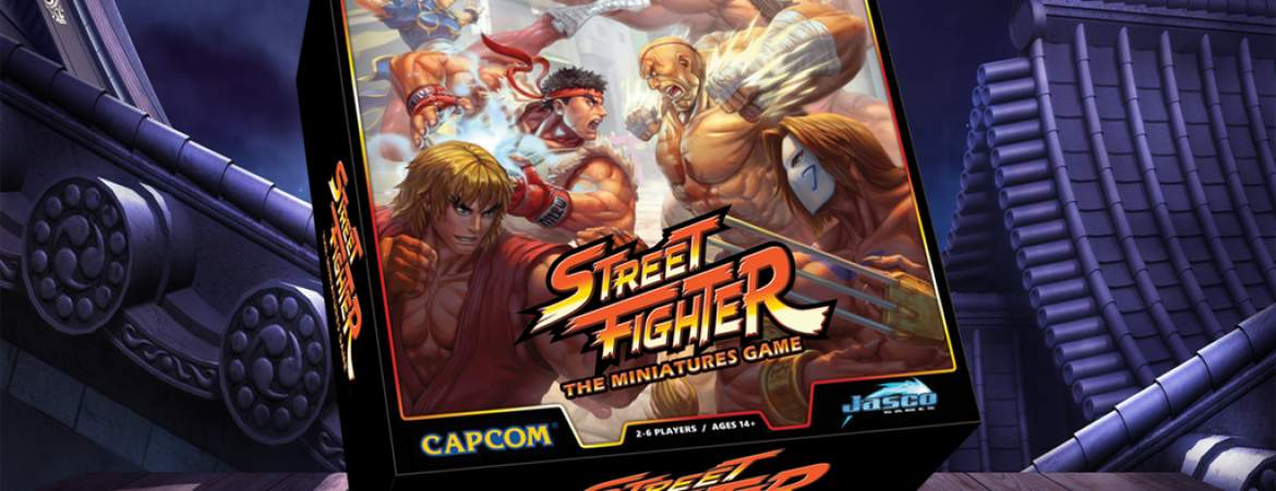 street fighter miniatures game