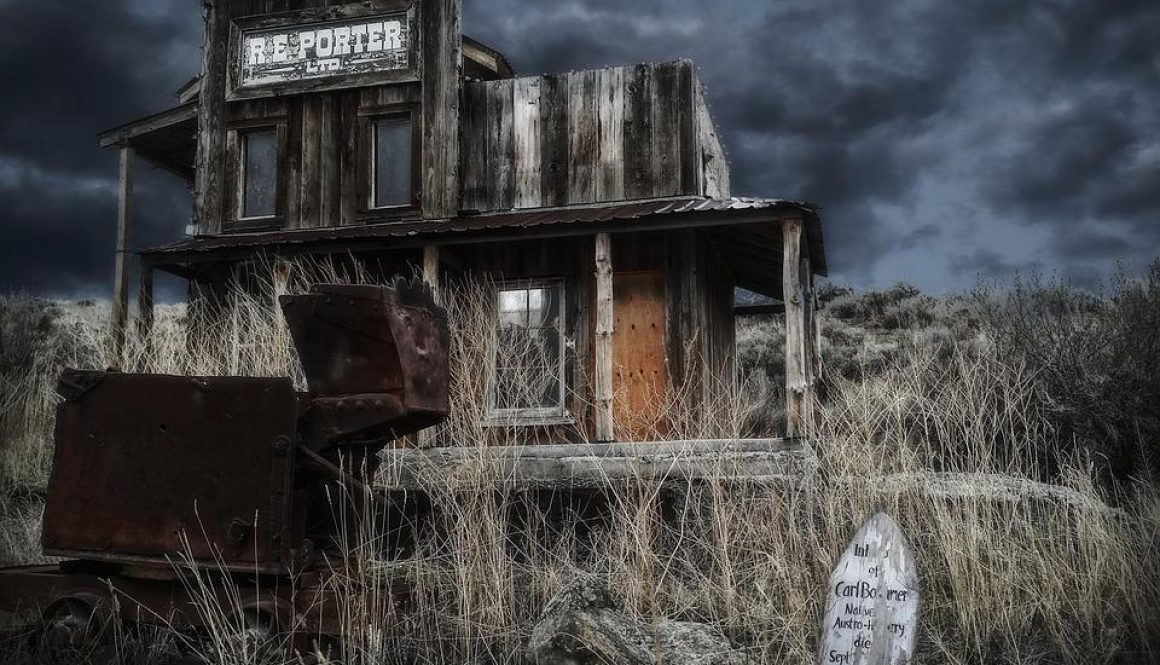 Forgotten Place Ghost Town Old Wild West Village