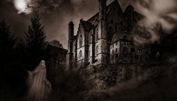 Mystical Creepy Castle Fear Weird Ghosts Mood