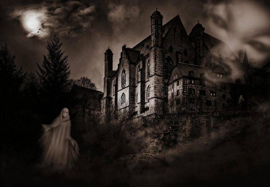 Mystical Creepy Castle Fear Weird Ghosts Mood