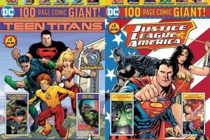 """DC Comics Returning To Retail Stores — In """"Giant"""" Form"""