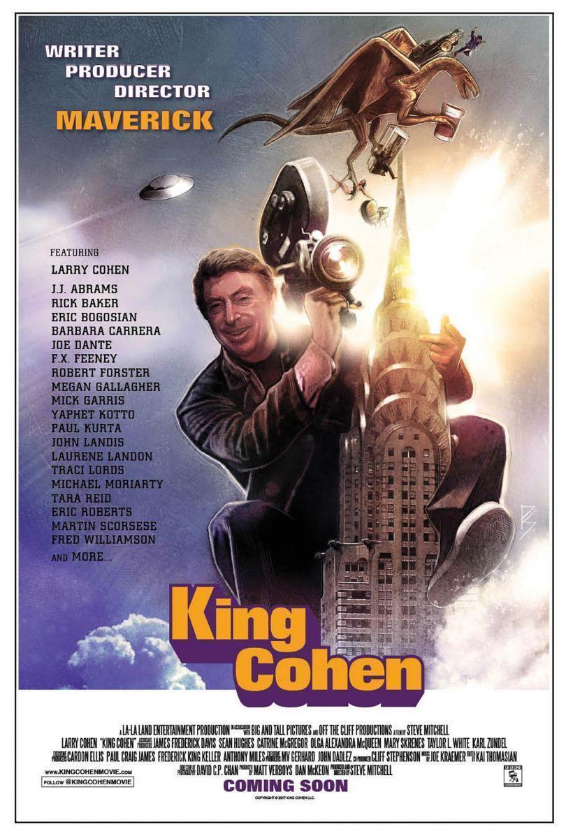 King Cohen Poster - Steve Mitchell, King Cohen Director