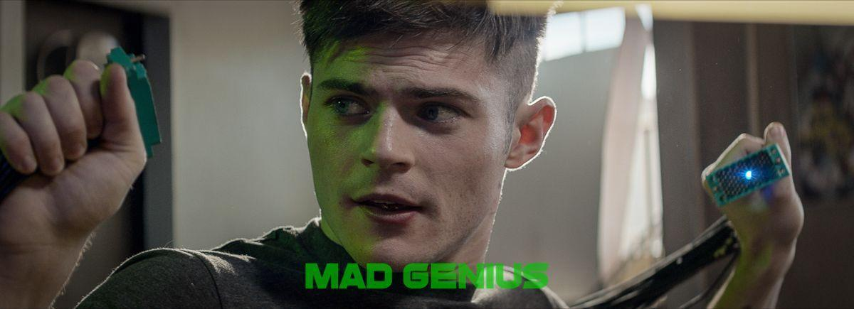 Chris Mason as Mason - Mad Genius Movie Review