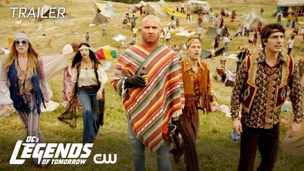 SDCC 2018: The CW's DC Super-Trailers — Legends, Flash & More