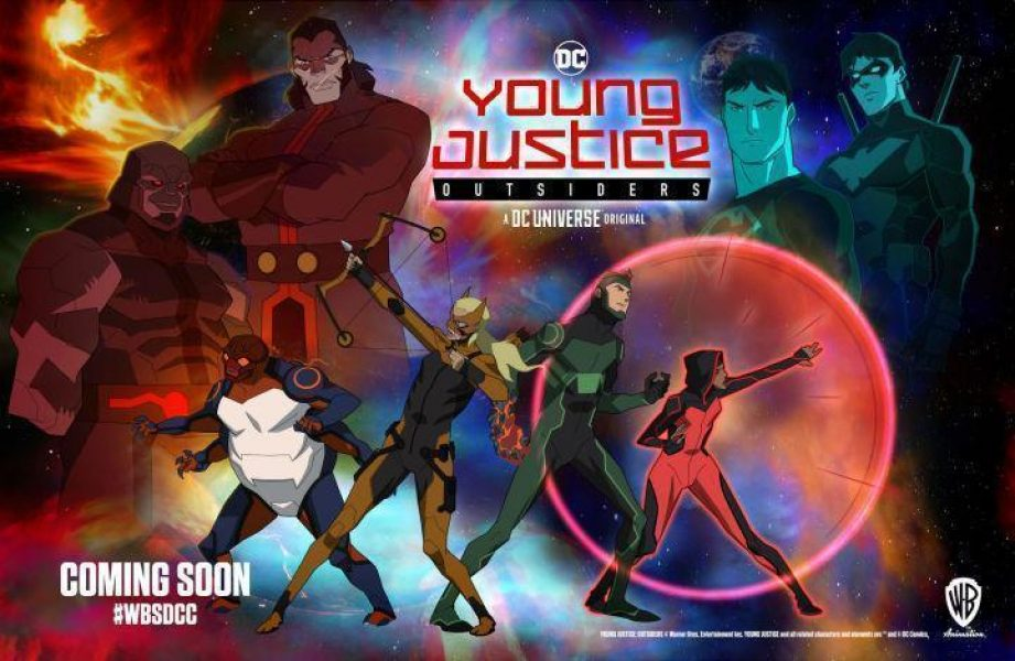 Young Justice Outsiders Trailer Shown at San Diego Comic-Con 2018
