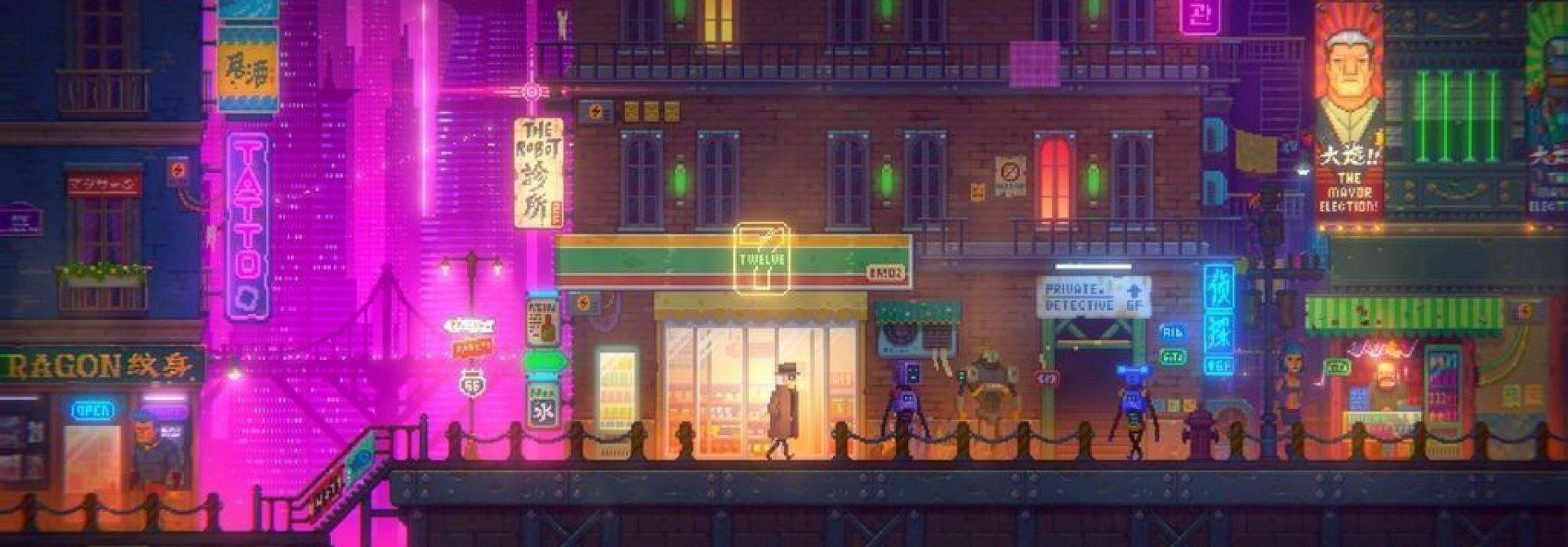 Tales Of The Neon Sea Has Almost Met Its Goal