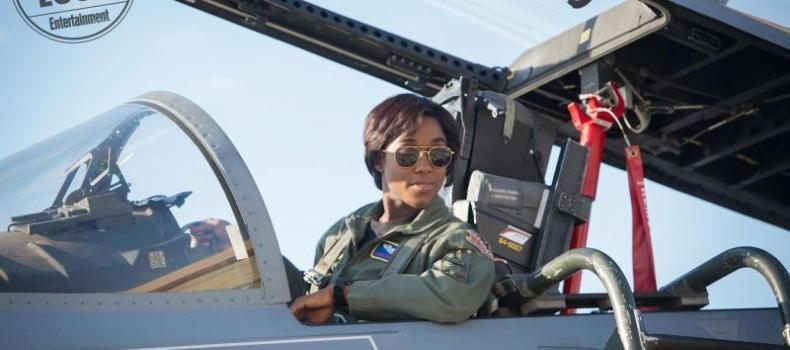 First Photos from Captain Marvel