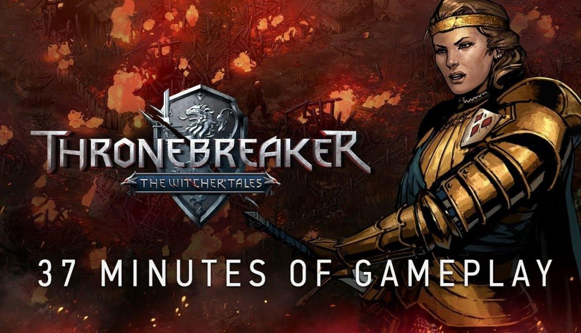 Over 30 Minutes Of Footage From Thronebreaker: The Witcher Tales