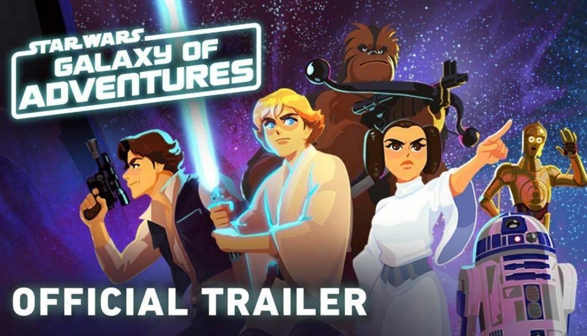 "Disney Introduces Star Wars ""Galaxy Of Adventures"" Shorts"