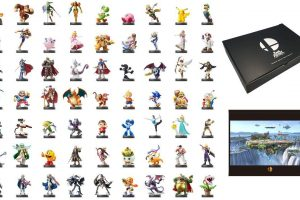 Special Limited Edition Smash Bros Package Contains 63 Amiibo