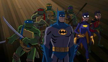 batrman vs. teenage mutant ninja Turtles