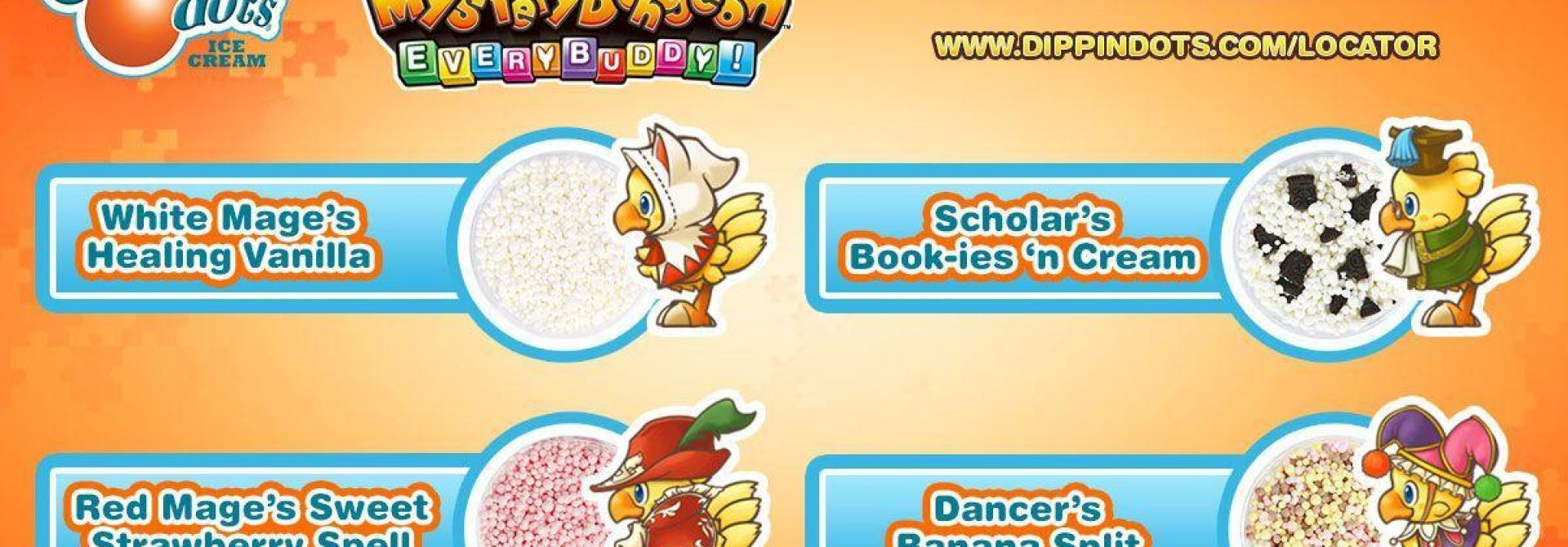 Chobobo-Themed Sweepstakes Coming To Dippin' Dots