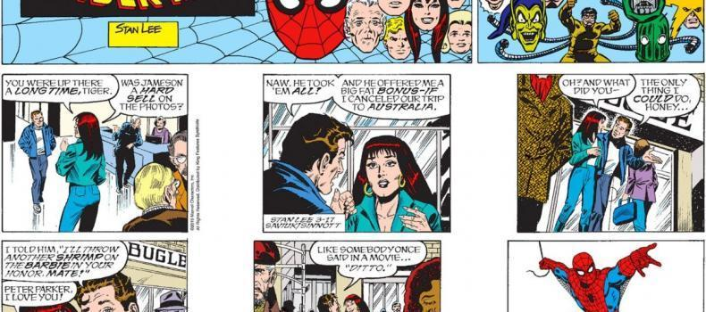 The Spider-Man Comic Strip Is Ending In One Week