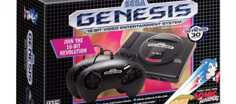 Here Is Half Of The Genesis Mini Lineup
