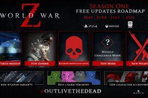World War Z's Post-Launch Content Roadmap