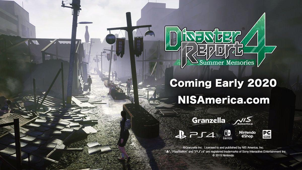 Disaster Report 4 Announced For US Release
