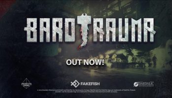 Barotrauma Out Now On Steam