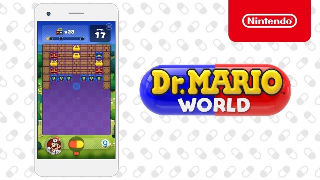 Dr. Mario World Comes To Phones In July