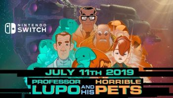 Professor Lupo And His Horrible Pets Coming July 11