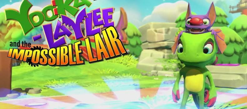 Yooka-Laylee Is Back, And Flatter Than Ever