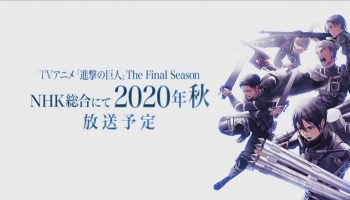 Attack On Titan Is Winding Down; Final Season Airs In 2020